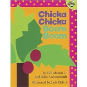 Simon & Schuster Chicka Chicka Boom Boom Children's Book Bill Martin Jr and John, Grades P-1st
