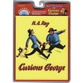 American Heritage Curious George Carry Along Book and CD Set By Hans Rey, Grades Pre School - K