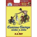 American Heritage Curious George Rides a Bike Carry Along Book and CD Set By Hans Rey, Grades K-3rd