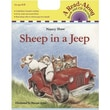 American Heritage Sheep In a Jeep Carry Along Book and CD Set By Nancy Shaw, Grades Pre School - K