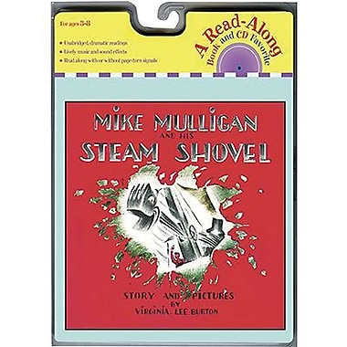 American Heritage Mike Mulligan and His Steam Shovel Carry Along Book and CD Set, Grades K - 3rd