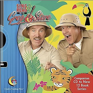 Creative Teaching Press™ Sing and Read CD By Greg Scelsa and Steve Millang, Grades pre-school - 1st