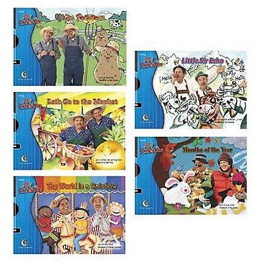 Creative Teaching Press™ Sing and Read With Greg and Steve Variety Pack With CD, Grades P-1st