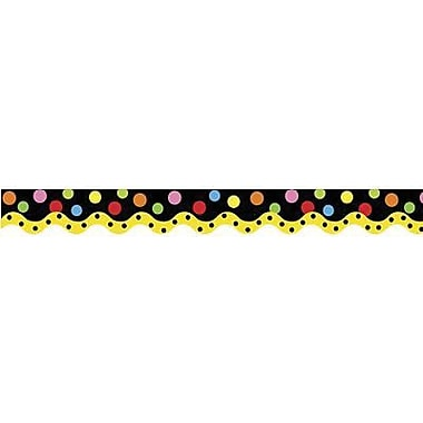 Creative Teaching Press™ preschool - 12th Grades Scalloped Bulletin Board Border, Dancing Dots