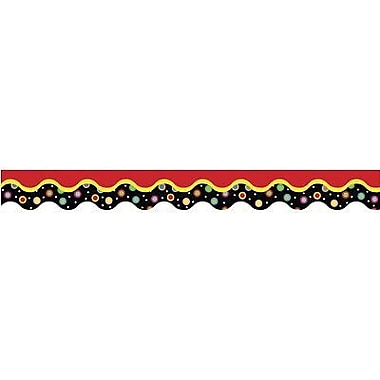 Creative Teaching Press™ preschool - 12th Grades Scalloped Bulletin Board Border, Dots On A Wave