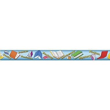 Teacher Created Resources® pre-school - 8th Grades Straight Bulletin Board Border Trim, Reading