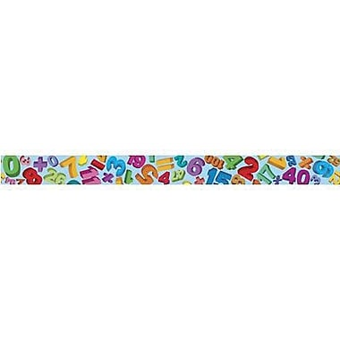 Teacher Created Resources® pre-school - 8th Grades Straight Bulletin Board Border Trim, Math