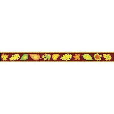 Teacher Created Resources TCR4693 35in. x 3in. Straight Leaves Border Trim, Multicolor