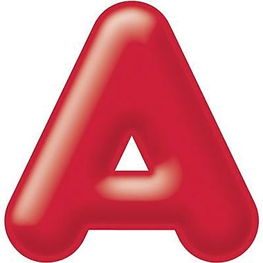 Trend Enterprises® 3D Casual Ready Letter, 2in., Red