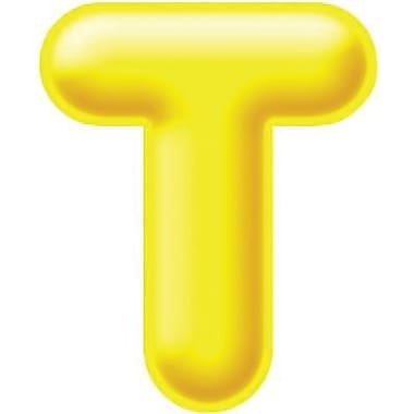 Trend Enterprises® 3D Casual Ready Letter, 2in., Yellow