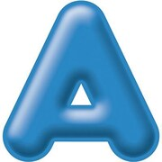 "Trend Enterprises® 3D Casual Ready Letter, 2"", Blue"