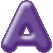 "Trend Enterprises® 3D Casual Ready Letter, 2"", Purple"