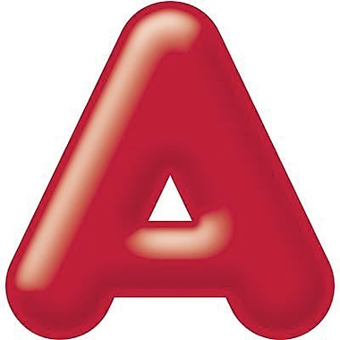 Trend Enterprises® 3D Casual Ready Letter, 4in., Red