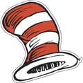 Eureka® Dr. Seuss™ 5in. Paper Cut-Outs, Cat In The Hat
