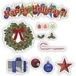 Edupress® Mini Bulletin Board, Happy Holidays