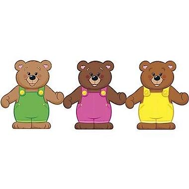 Trend Enterprises® pre-kindergarten - 3rd Grades Classic Accents, Linking Bears