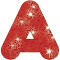 Trend Enterprises® Casual Sparkles Ready Uppercase Letter, 2in., Red