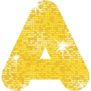 Trend Enterprises® Casual Sparkles Ready Uppercase Letter, 2, Yellow