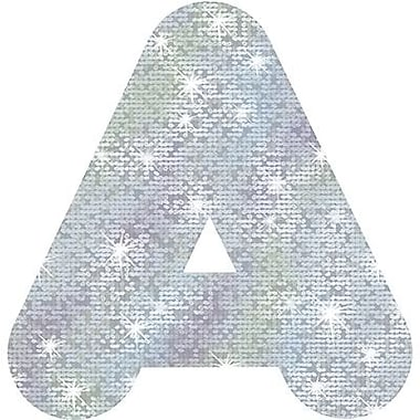 Trend Enterprises® Casual Sparkles Ready Uppercase Letter, 4in., Silver