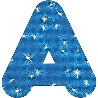 Trend Enterprises® 4in. Casual Sparkles Ready Uppercase Letters