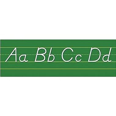 North Star Teacher Resources® Tack/Staple Bulletin Board Set, Alphabet Lines-Modern Manuscript
