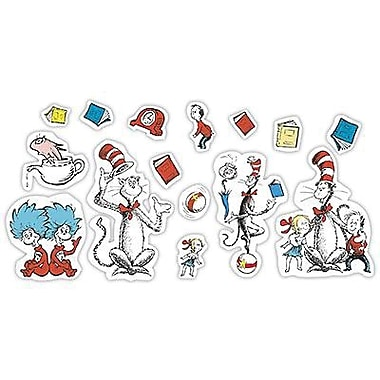 Eureka® Bulletin Board Set, Cat In The Hat Large Characters