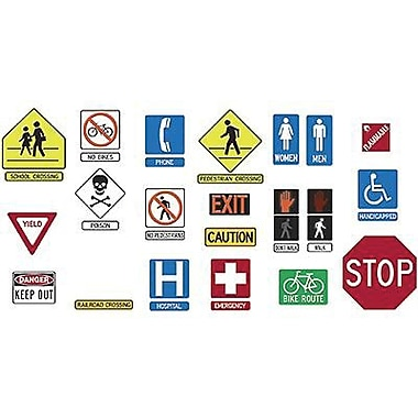 Trend Enterprises® Bulletin Board Set, Safety Signs and Symbols