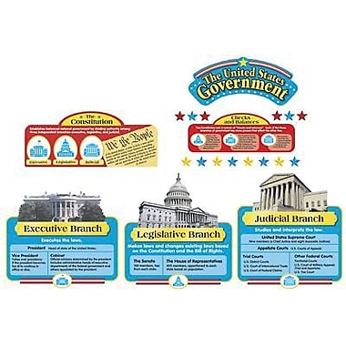 Trend Enterprises® Bulletin Board Set, United States Government
