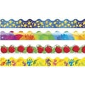 Trend Enterprises® Pre K - 9th Grades Scalloped Terrific Bulletin Board Trims, School Basics