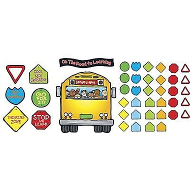 DJ Inkers® Bulletin Board Set, School Bus