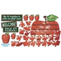 Teacher's Friend® Bulletin Board Set, Welcome Apple Puzzle