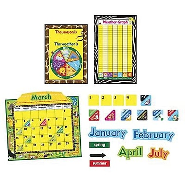 Trend Enterprises® Calendar Bulletin Board Set, Jungle Fun