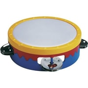 "Hohner® Instruments 6"" Multi-Color Tambourine"