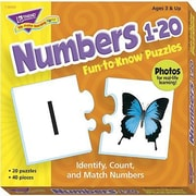 Trend Enterprises® Fun-to-Know Puzzle, Numbers 1 - 20