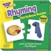 Trend Enterprises® Fun-to-Know Puzzle, Rhyming
