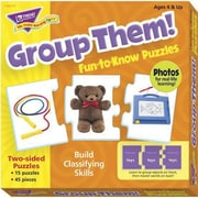 Trend Enterprises® Fun-to-Know Puzzle, Group Them!