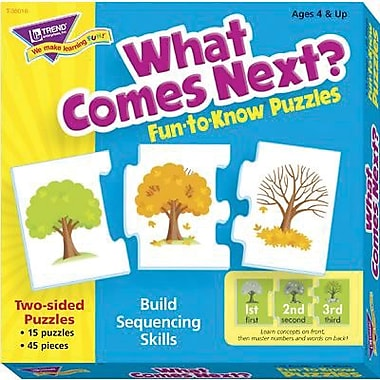 Trend Enterprises® Fun-to-Know Puzzle, What Comes Next?