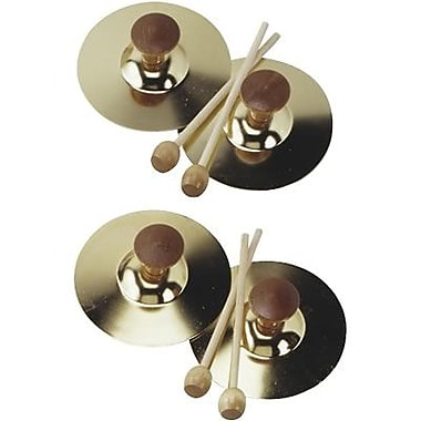 Hohner® Instruments 5in. Cymbals With Mallet Pair