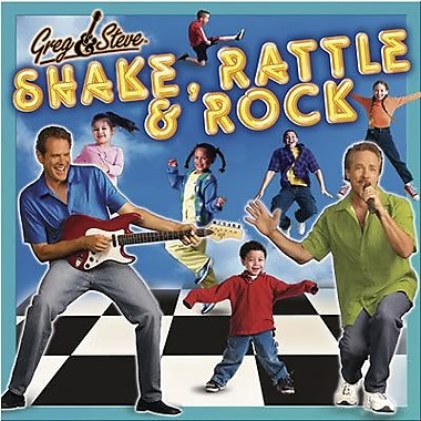 Greg & Steve Shake, Rattle and Rock CD