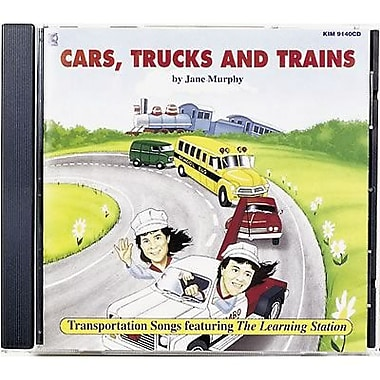 Kimbo® Educational Dance and Fitness CD, Cars, Trucks and Trains
