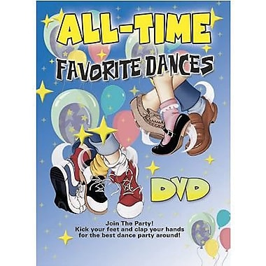 Kimbo Educational® English Dance and Fitness DVD, All Time Favorite Dances