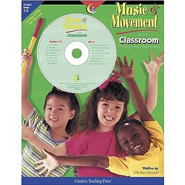 Creative Teaching Press™ Music and Movement In The Classroom CD, Grades 1st - 2nd