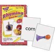 Trend Enterprises® Rhyming Words Match Me Card
