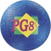 "Martin Sports® Rainbow Playground Ball, 8 1/2""(Dia), Blue"