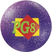 "Martin Sports® Rainbow Playground Ball, 8 1/2""(Dia), Purple"