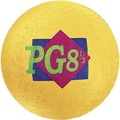 Martin Sports® Rainbow Playground Ball, 8 1/2in.(Dia), Yellow