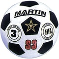 Martin Sports® Soccer Ball, Black and White, Size 3