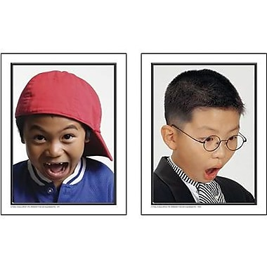 Key Education Publishing® Facial Expression Photographic Learning Cards, Grades pre-kindergarten-1st