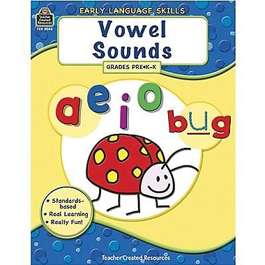 Teacher Created Resources® Early Language Skills, Vowel Sounds Book