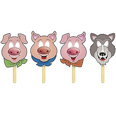 Teacher's Friend® Fairy Tale Three Little Pigs Masks With Easy - To - Read Play!